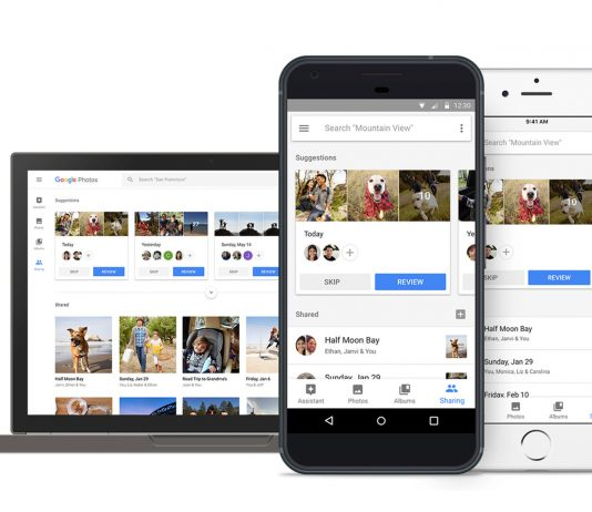 google photos' ai powered sharing
