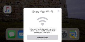 iOS 11 wifi share_1