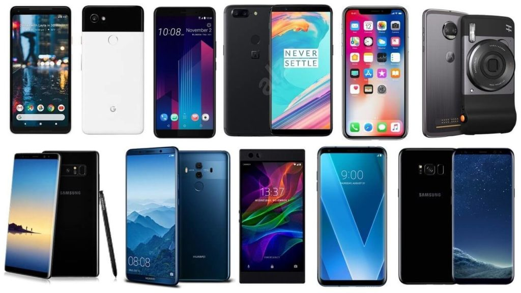 top 10 flagship smartphones 2018