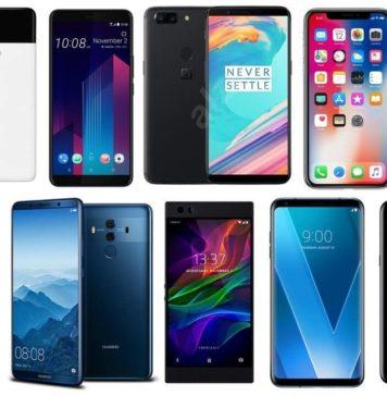 top 10 flagship smartphones 2018