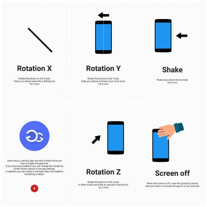 moto actions on any android phone