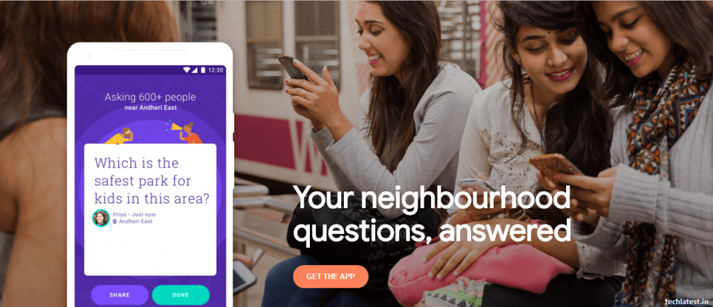 Google Neighbourly app