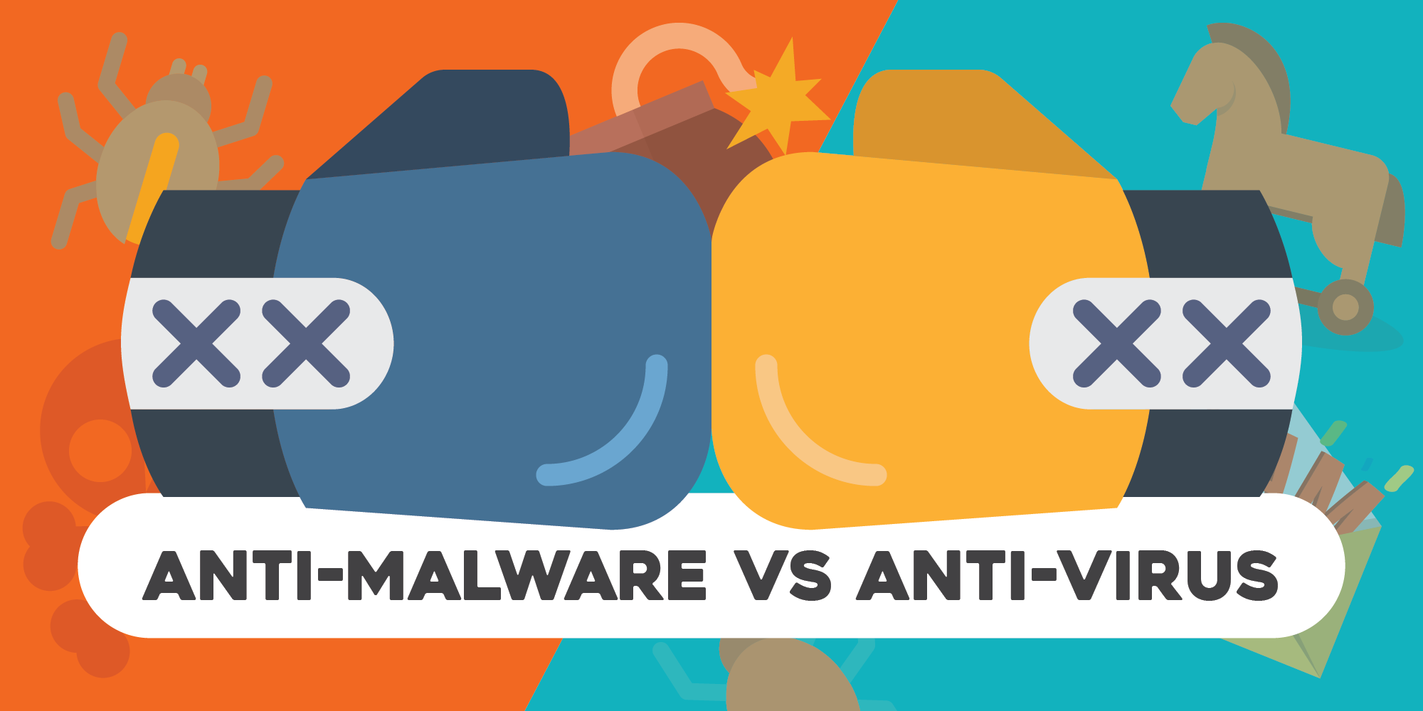 antivirus vs anti malware
