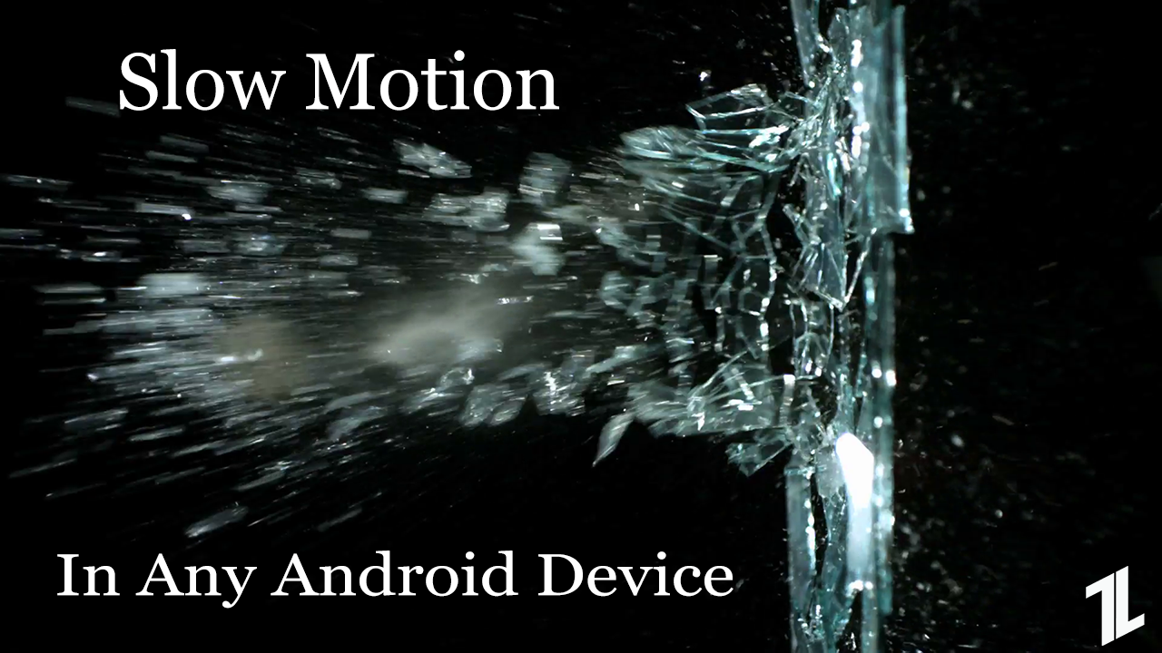 enable slow motion mode