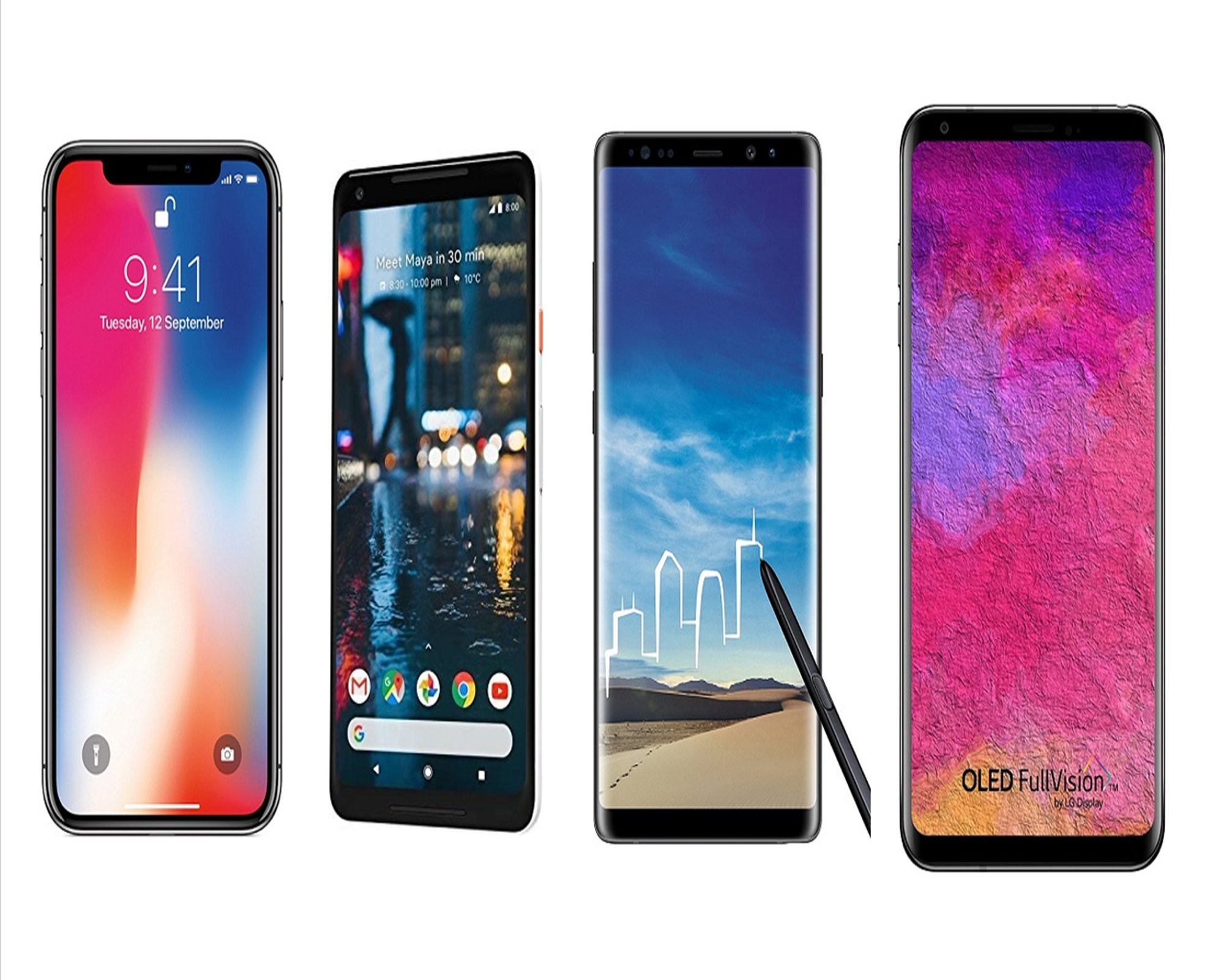 Best Flagship Smartphones Launched in 2018