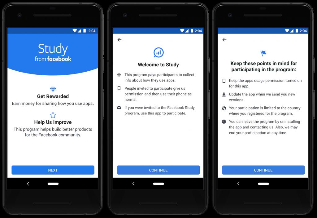 study app by facebook