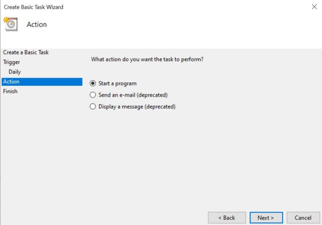 Schedule Windows 10 for Automatic Shutdown