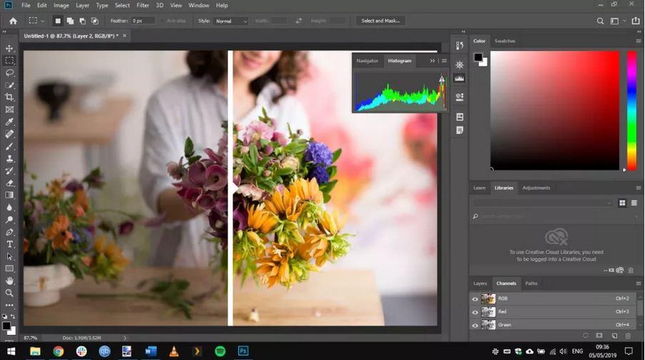 GIMP vs Photoshop: Features