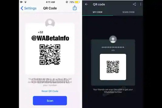 Add Contacts Using Profile QR Codes in WhatsApp
