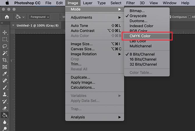GIMP vs Photoshop: CMYK