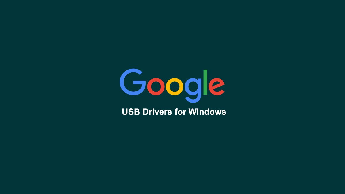 Google USB Drivers