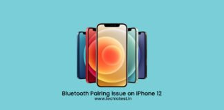 Bluetooth Pairing Issue on iPhone 12