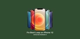 Fix iPhone 12 Boot Loop