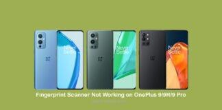 Fingerprint Scanner Not Working or Not Detecting on OnePlus 9