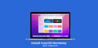 Install macOS Monterey