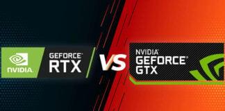 NVIDIA GTX vs RTX